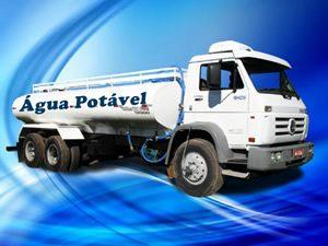 Limpeza e higienização de caminhão pipa
